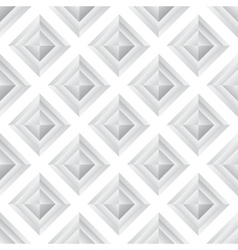 Abstract diamond grey seamless background vector
