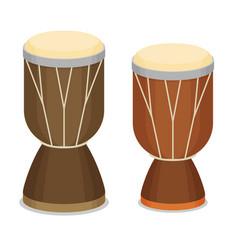 African djembe drum vector