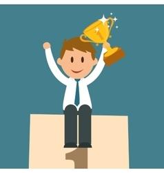 Business entrepreneur vector image