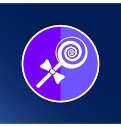 candy lollipop logo symbol icon graphic vector image vector image