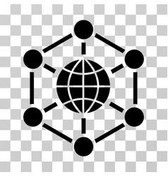 Global web icon vector