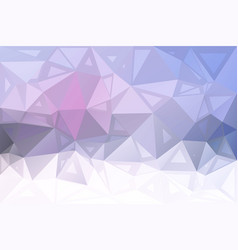 Pink grey random sizes low poly background vector