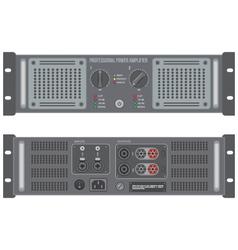 speaker amplifier device vector image vector image