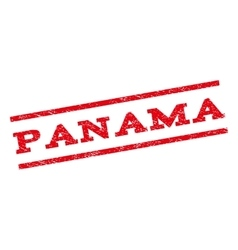 Panama watermark stamp vector