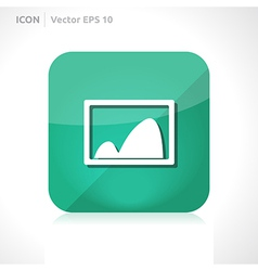 Gallery - pictures icon vector