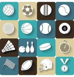 Sport icons - vector