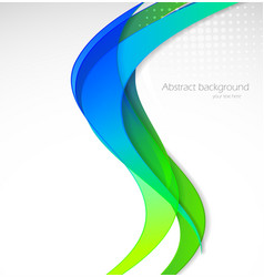 Abstract wavy vector image