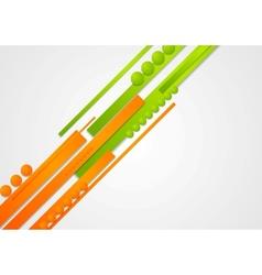 Concept abstract hi-tech background vector