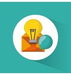 Creative process colorful design vector