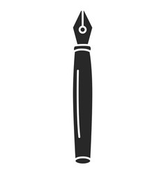 pen school isolated icon vector image
