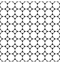 Polka dot geometric seamless pattern 1707 vector image vector image