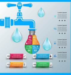 tap icon business infographics vector image