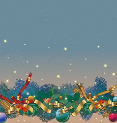 background christmas or new year vector image