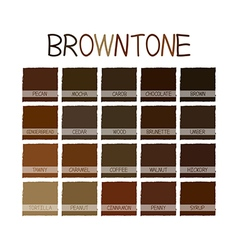 Browntone color tone vector