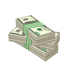 dollars vector image vector image