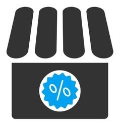 Drugstore sale icon vector