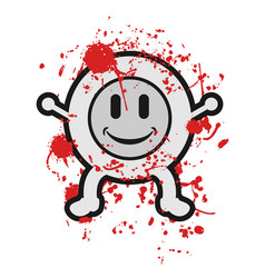 gore puppet vector image