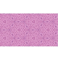 Seamless pattern made from flowers vector image vector image