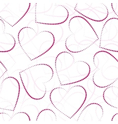seamless valentine-s day background vector image vector image