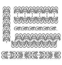 Decorative ornate frame vector