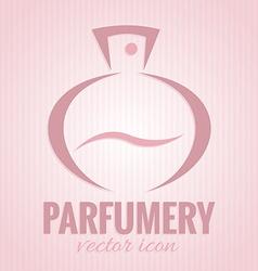 Parfumery icon vector image