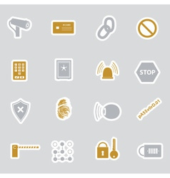Security stickers eps10 vector