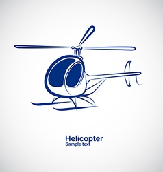 Helicopter 4 vector