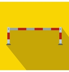 Barrier icon in flat style vector