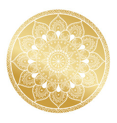 Mandala patternarabic vintage decorative ornament vector