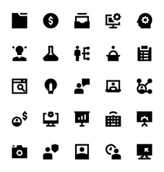 Project management icons 1 vector