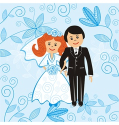 Wedding vector image vector image