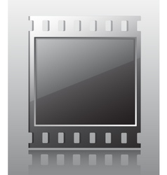 Film button vector