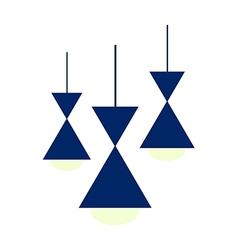 Three lights vector image