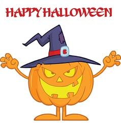Cartoon pumpkin vector