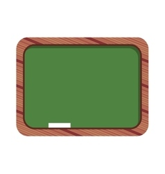 Chalkboard classroom isolated icon design vector