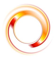 Abstract circles logo background vector image vector image