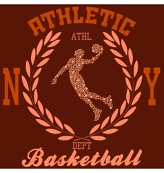 Basketball ny vector