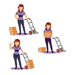 Female remover staff vector