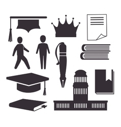 Academic education design vector