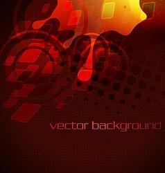 Artistic stylish background vector