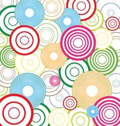 Colorful Abstract Circles vector image