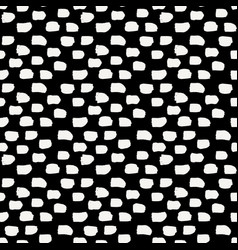 hand drawn abstract seamless pattern vector image vector image