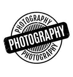 photography rubber stamp vector image