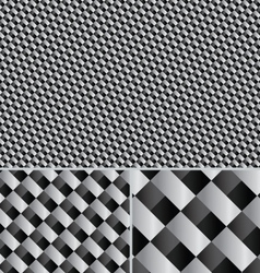 Premium carbon fiber Seamless Pattern vector image