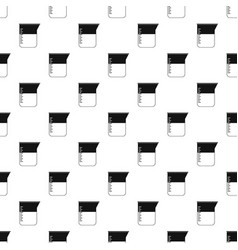 measuring cup pattern vector image