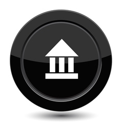 Button with amphitheater vector