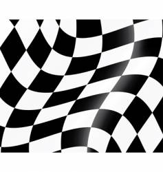 racing flag vector image