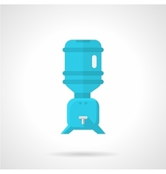 Cooler for potable water flat icon vector