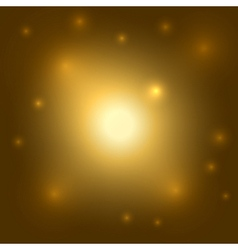 Gold background light burst vector