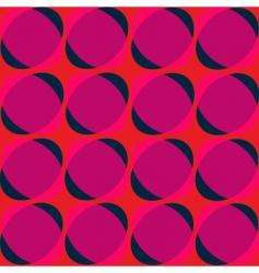 retro electric background vector image vector image